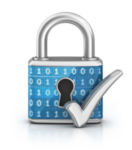 Network Security page Padlock image