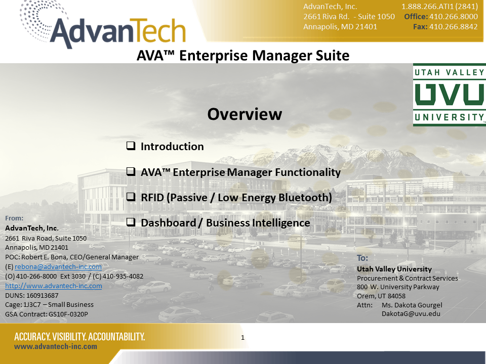 AVA_Integrated_Modules_UVU_AMS